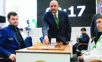 خمس نجوم سعوديين يشاركون في بطولة العالم للشطرنج على كأس الملك سلمان بموسكو