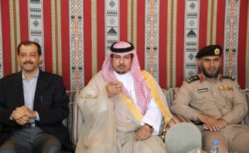 رئيس اللجنة التشغيلية بعمليات الخفجي المشتركة  يستضيف الهزاع في حفل غداء