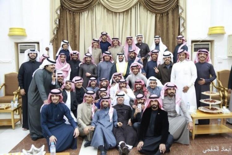 أبناء مسامح بن مياح الشمري يحتفلون بزواج أخيهم «متعب»