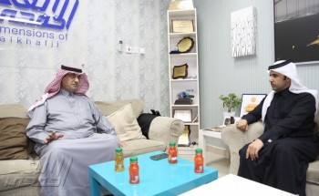 كاتب الرأي عبدالله مهدي  من مقر «أبعاد الخفجي» يتحدث عن رحلته الإعلامية وكتاباته الصحفية