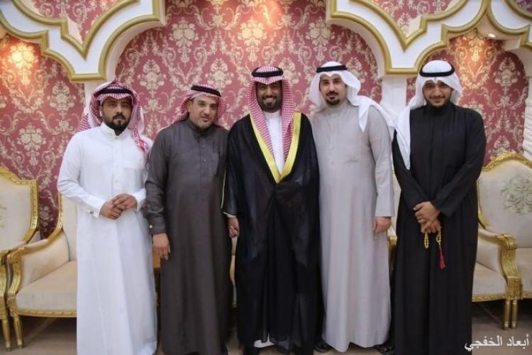 فهد الشمري يحتفل بزواج أبنه «حامد»