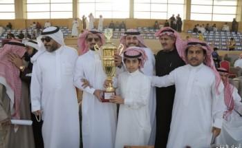 «المفتي» يخطف كأس شركة مدارس المستقبل الاهلية بفروسية الخفجي