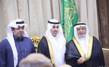 سالم بن سلامة البلوي يحتفل بزواج ابنه «سلطان»