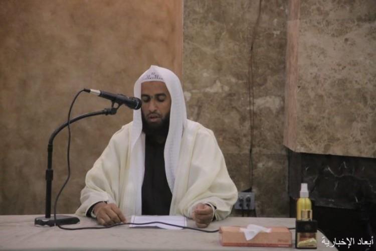 الشيخ الشمراني يلقي محاضرة تفسير آيات من سورة الانعام بالخفجي