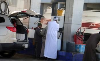 المعاناة تتكرر.. محطات الوقود في الخفجي خالية من «قاز التدفئة»