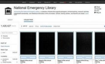أرشيف الإنترنت يتيح 1.4 مليون كتاب إلكترونى جديد خلال ازمة كورونا