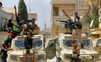 الجيش الليبى يعتقل مجموعة مسلحة تختطف المواطنين لطلب فدية فى طبرق