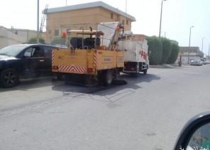 بلدية الخفجي تزيل 13 ألف م3 نفايات وأنقاض