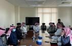 الهزاع يناقش دعم إقامة مركز لقاح كورونا في مستشفى الخفجي