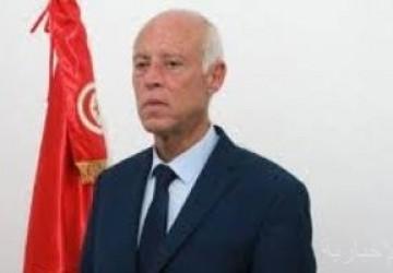 الرئيس التونسى يثمن جهود المؤسسة العسكرية ويحثها على اليقظة