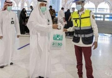 وكالة شؤون المسجد الحرام توزع الهدايا على قاصدي بيت الله الحرام ومنسوبي الجهات المشاركة