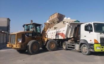 بلدية الخفجي: رفع أكثر من 64704 م3 من الأنقاضخلال شهر