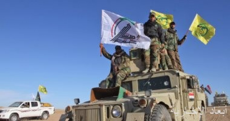 الحشد الشعبى العراقى يحبط تسللا لإرهابي داعش فى صلاح الدين