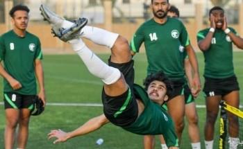 المنتخب السعودي الأولمبي يعاود تدريباته بعد ودية ليبيريا