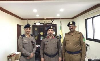 مدير الدفاع المدني «العتيبي» يقلد العسيري واليامي رتبهم الجديدة