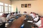 الهزاع يترأس إجتماع المجلس المحلي الأول بالخفجي