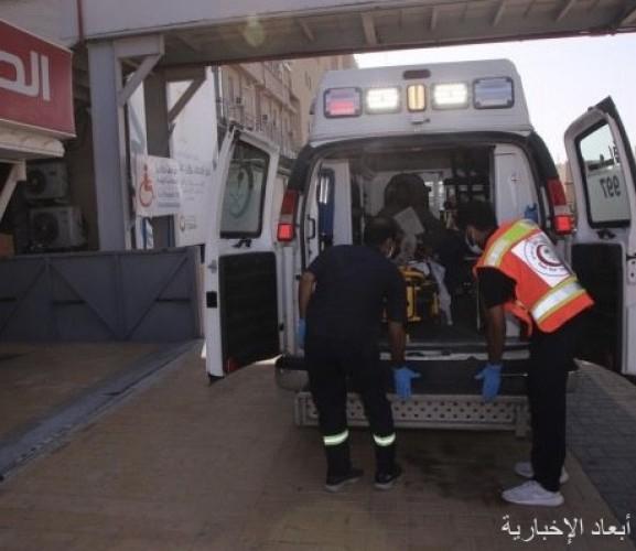 الهلال الأحمر: حادث تصادم يصيب اثنين بالقرب من جسر السفانية