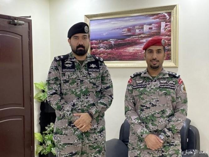 ترقية الشهراني إلى رتبة رائد والظفيري إلى رتبة نقيب في إدارة سجن الخفجي