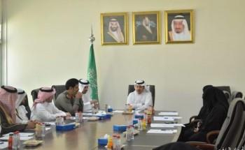 محافظ الخفجي يترأس إجتماع لجنة إصلاح ذات البين الأول