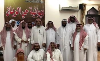 ديوانية حي الريان تستضيف الشيخ العمري