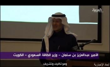 وزير الطاقة.. يكشف دور سمو ولي العهد في تقسيم المنطقة المحايدة