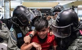 تجدد الاحتجاجات داخل مراكز تجارية في هونغ كونغ