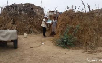 مركز الملك سلمان للإغاثة يوزع 25,500 كرتون من التمور في محافظة أبين