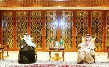 خادم الحرمين الشريفين يتلقى رسالة خطية من سمو أمير دولة الكويت