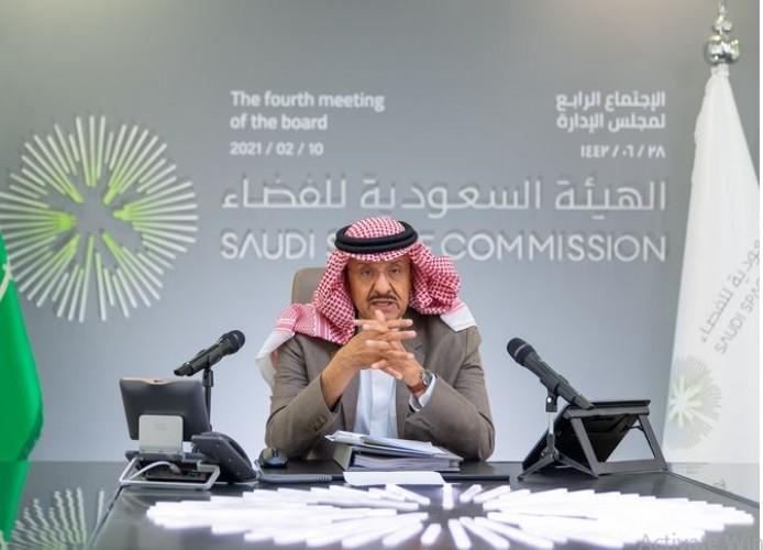سلطان بن سلمان يعلن إكمال مراحل تأسيس الهيئة السعودية للفضاء