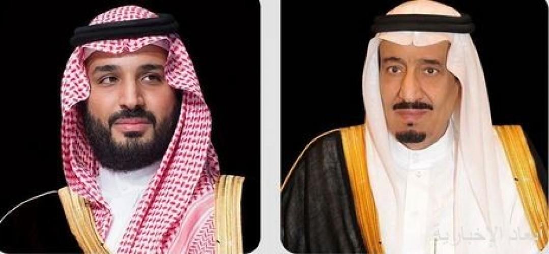 خادم الحرمين الشريفين وسمو ولي العهد يبعثان برقيات تهنئة إلى قادة الدول الإسلامية بمناسبة عيد الأضحى المبارك