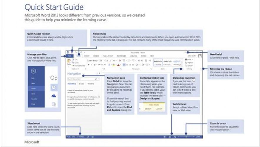 "مايكروسوفت توفّر دليل استخدام ""أوفيس 2013"