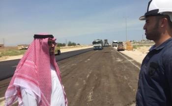 رئيس بلدية الخفجي يواصل جولاته التفقدية للمشاريع التنموية ويوجه بسرعة انهائها
