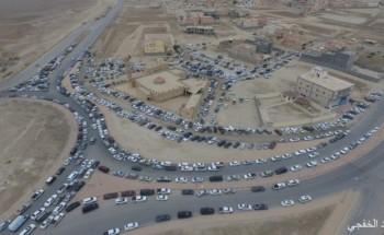 صور جوية لـ«أبعاد الخفجي».. توضح الزحام المروري بمحيط جامع البخاري