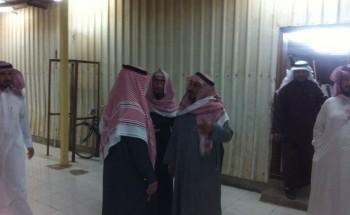 تفاعلاً مع مانشرته أبعاد الخفجي:الهزاع يزور مسجد حي الريان