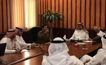 بلدية الخفجي تعقد اجتماعا مع الدوائر الحكومية لمناقشة الاستعدادات لموسم الامطار