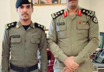 الحربي من شرطة الخفجي إلى رتبة ملازم أول