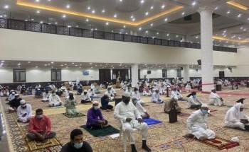جموع المصلين في مناطق المملكة يؤدون صلاة عيد الأضحى المبارك