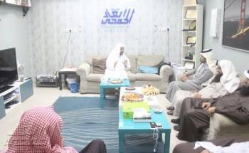 من منبر«أبعاد»الشيخ مسندالقحطاني,يدعو الشباب للإلتفاف حول العلماء ويؤكد وجود أزمة ثقافة تطوعية