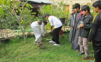 مدرسة الحديبية بالخفجي تنظم زيارة لطلابها بمناسبة أسبوع الشجرة