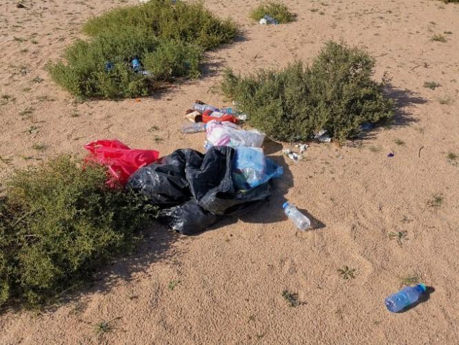 مخلفات المتنزهين تشوه منظر « البر »بالخفجي ومطالبات بالتعاون للمحافظة على البيئة