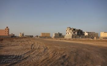 100 فيلا سكنية بلا خدمات بلدية في حي الشاطئ بالخفجي