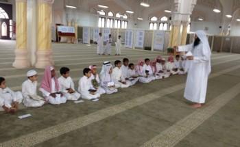 الفرع السادس في مسابقة التميز يختتم بفوز حلقة مسجد معاذ بن جبل