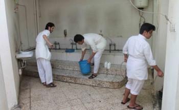 بالصور : بادرة شبابية في الخفجي تنتهي من تنظيف وتجهيز 9 مساجد