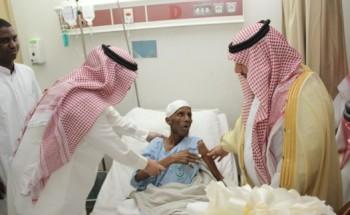لجنة أصدقاء المرضى تزور المنومين في مستشفى الخفجي العام