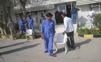 برنامج ترفيهي لعمال النظافة بمركز صحي العزيزية بالخفجي