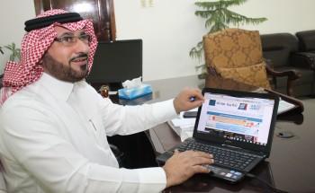 """الصفيان يدشن صحيفة """"أبعاد الخفجي"""" الإلكترونية بحلتها الجديدة"""