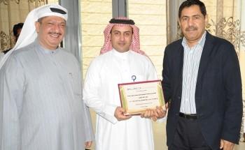 نادي عمليات الخفجي المشتركة لكرة القدم يحصل على المركز الأول في الأعمال المتميزة