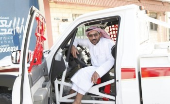 الشمري «بطل الراليات» يكمل إستعداده من الخفجي لخوض غمار باها الكويت