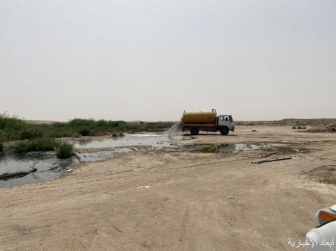 صهاريج تطرح مياه الصرف الصحي في مواقع غير مخصصة قرب السفانية