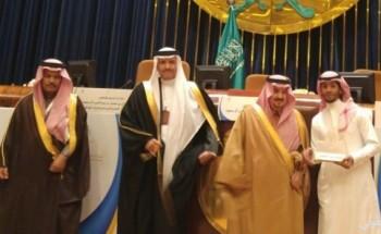 أمير الرياض يكرم أستديو أبعاد لفلم «وجه الرياض» بمنتدى المرشدين السياحيين
